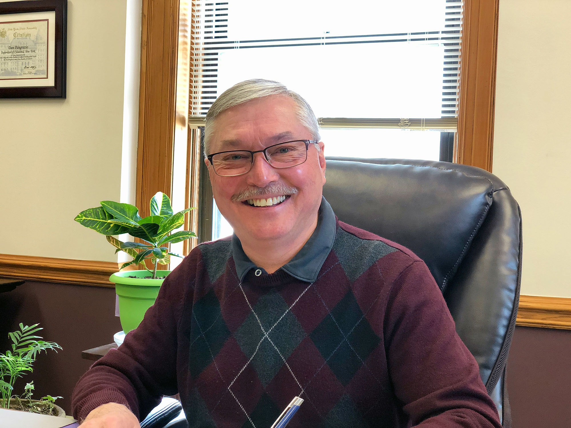 Photo of Dan Pangrazio, Town Supervisor