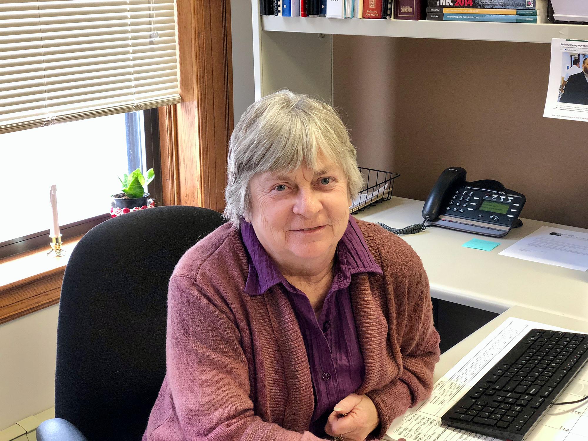 Photo of Eileen Bickford, Town Historian