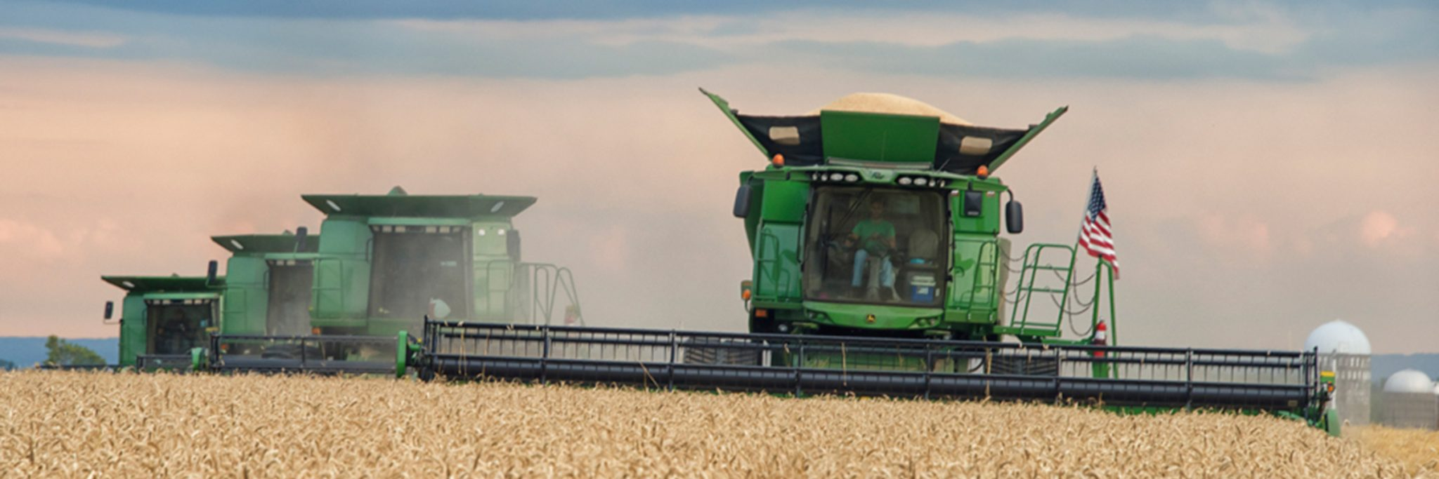 Photo of farm equipment