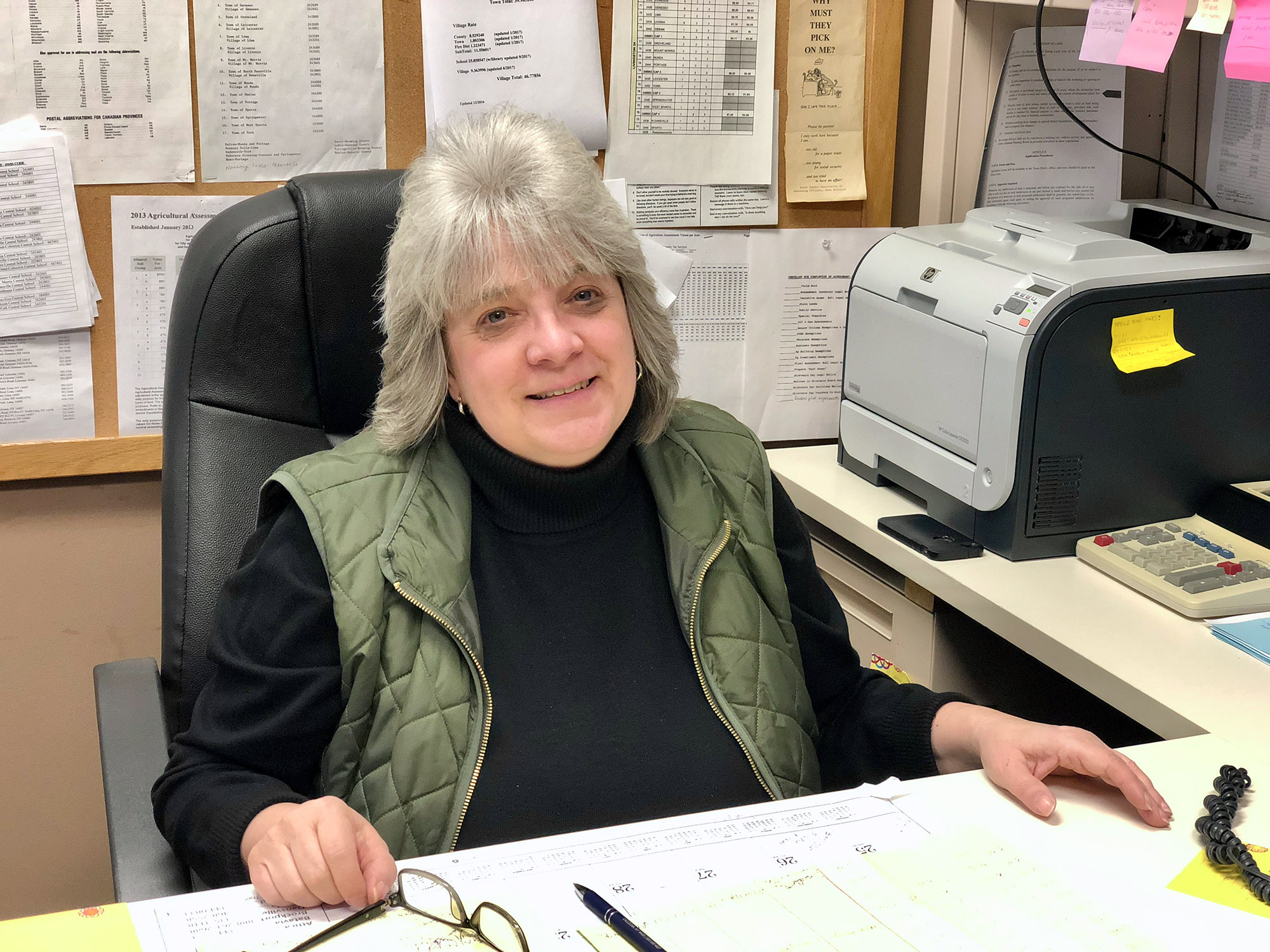 Photo of Tami Snyder, Town Assessor